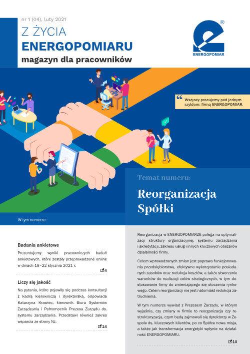 Okładka ZŻycia Energopomiaru, Luty 2021