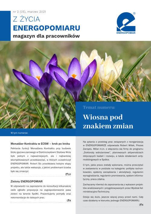 Okładka ZŻycia Energopomiaru, Marzec 2021